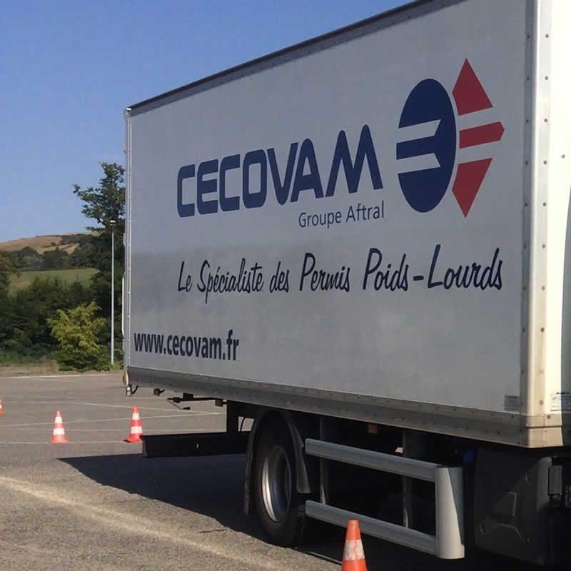 Cecovam auto école poids lourd permis C