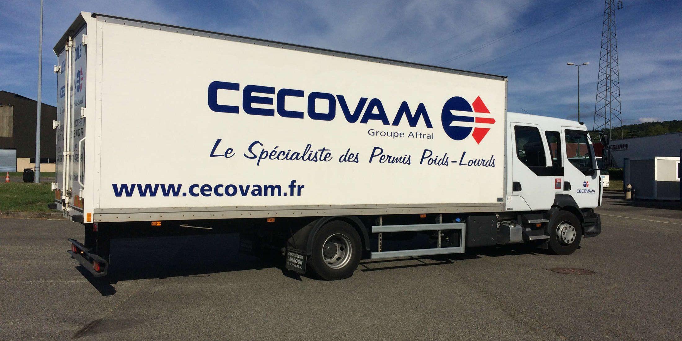 Cecovam spécialiste permis poids lourds C C1